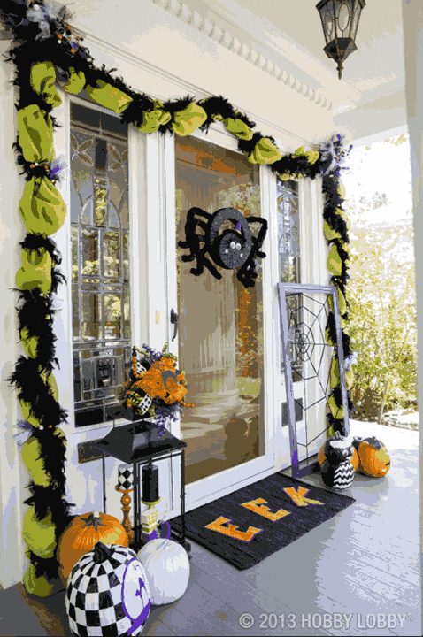 Halloween Porch Decoration Ideas 23
