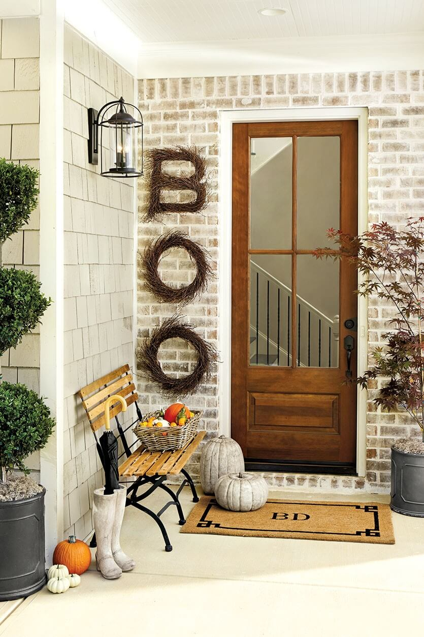 Halloween Porch Decoration Ideas 25