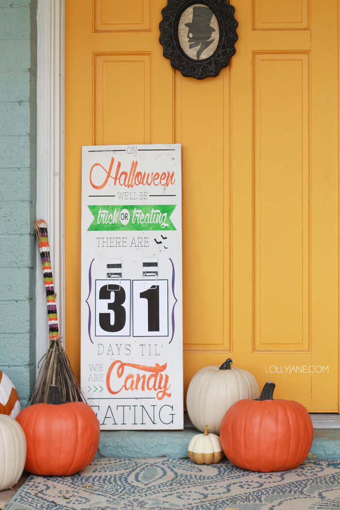 Halloween Porch Decoration Ideas 3