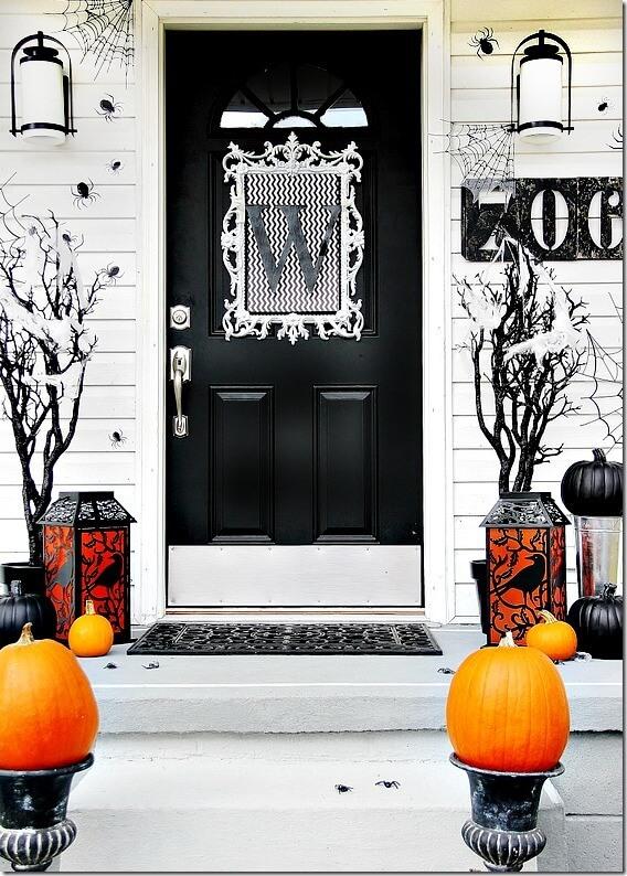 Halloween Porch Decoration Ideas 4