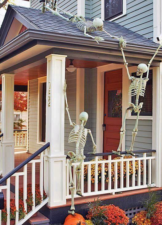 Halloween Porch Decoration Ideas 6