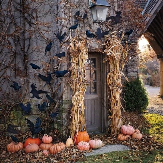 Halloween Porch Decoration Ideas 8