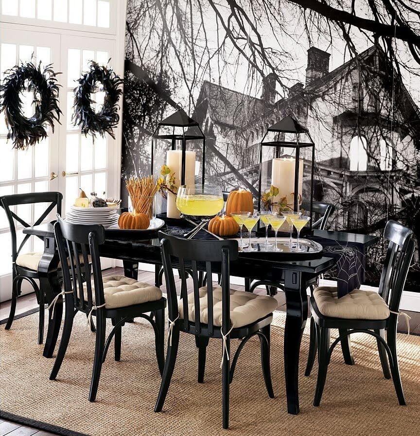 Spooky Halloween Table Decoration Ideas 7