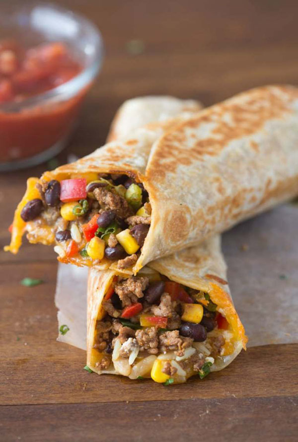 yummy-ground-beef-wraps