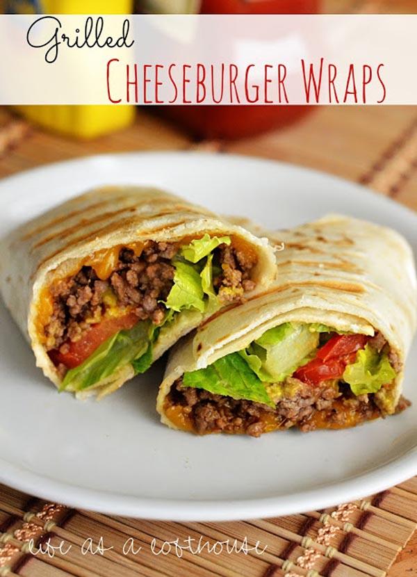 cheeseburger-beef-wraps