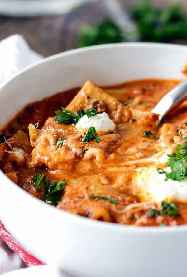 one-pot-lasagna-soup