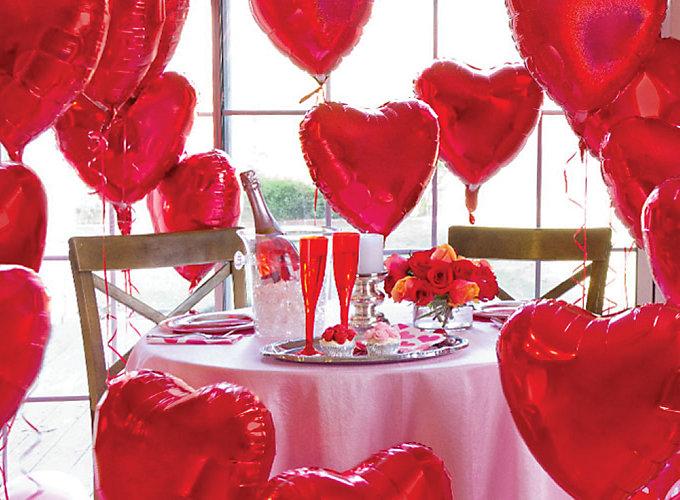15 Wonderful Balloon Decoration Ideas For Valentine S Day