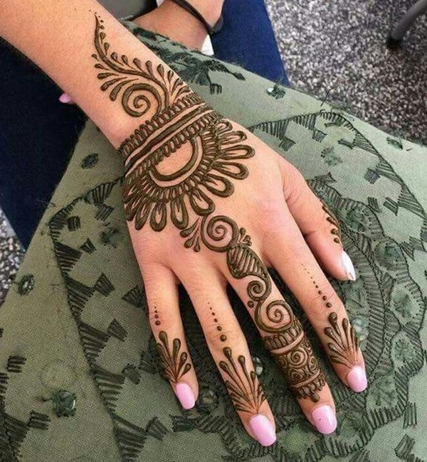 Back-Hand-Easy-Arabic-Henna-Ideas