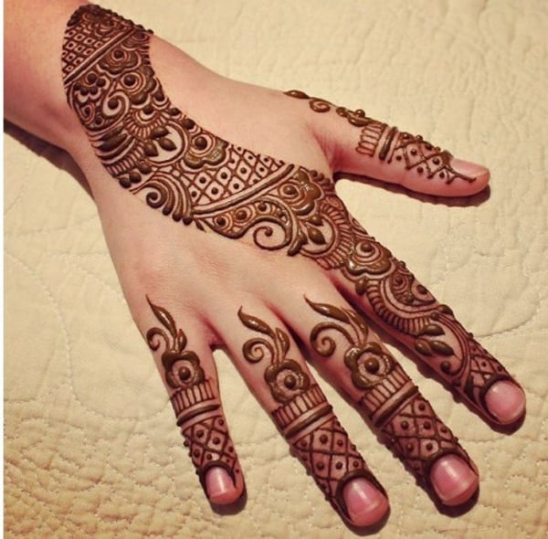 30 Latest Arabic Mehndi Designs - Easyday